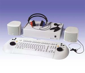 Диагностический компьютерный аудиометр MAICO МА 55. Внешний вид